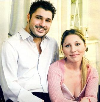 Με την οικογένεια του, τη γυναίκα του